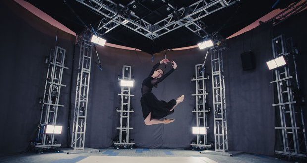 Large volumetric capture studio by Microsoft.